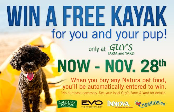 Win a Free Kayak