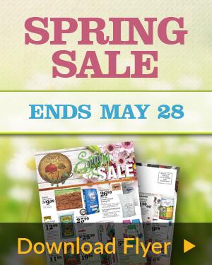 Spring Sale Flyer 2017